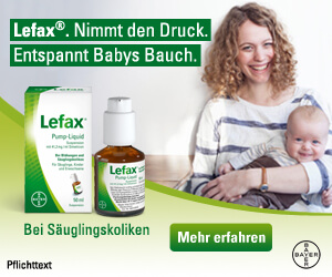 Banner Lefax für Babys und Kinder
