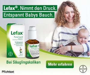 Lefax bei Säuglingskoliken