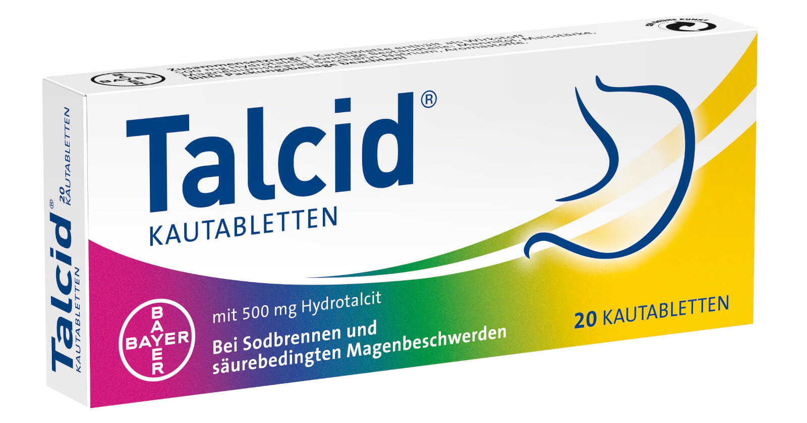 Packshot Talcid Kautabletten